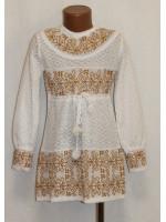 В'язана сукня для дівчинки «Слов'янка»