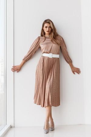 Сукня «Діді» бежевого кольору