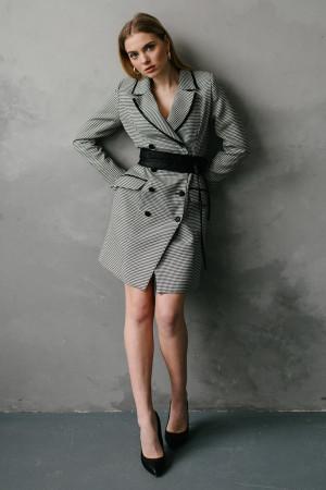 Сукня «Фрайд» сірого кольору
