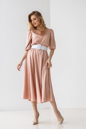 Сукня «Агата» кольору пудри