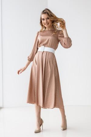 Сукня «Агата» бежевого кольору