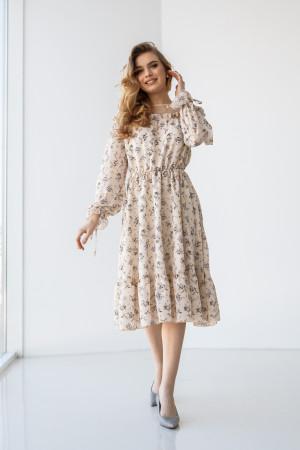 Сукня «Ленні» молочного кольору