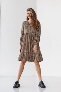 Сукня «Тінтін» коричневого кольору