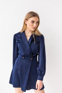 Сукня-комбінезон «Вайнона» темно-синього кольору