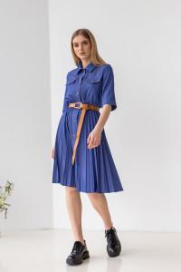 Платье «Мартиса» синего цвета