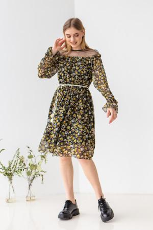 Сукня «Арані» з жовтими квітами