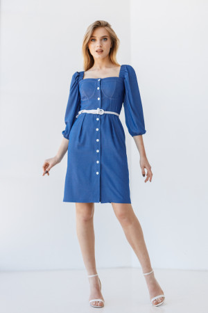 Сукня «Менді» синього кольору