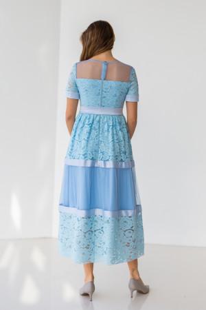 Сукня «Ларін» блакитного кольору