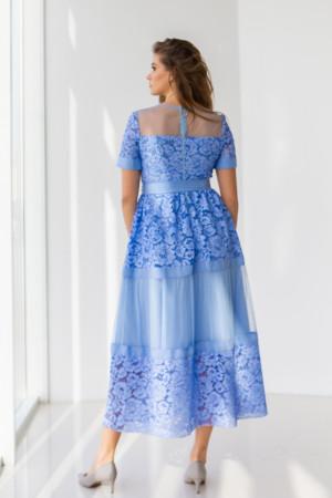 Сукня «Ларін» синього кольору