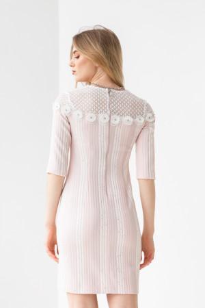 Сукня «Марша» біло-рожевого кольору