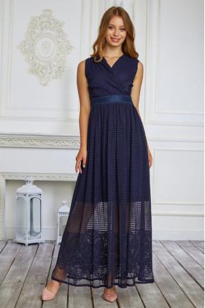 Сукня «Філліс» темно-синього кольору