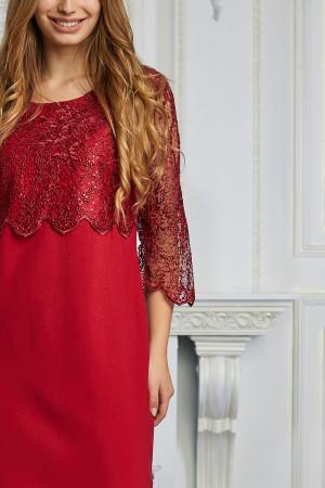 Сукня «Лація» червоного кольору