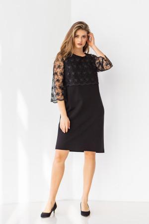 Платье «Лация» черного цвета