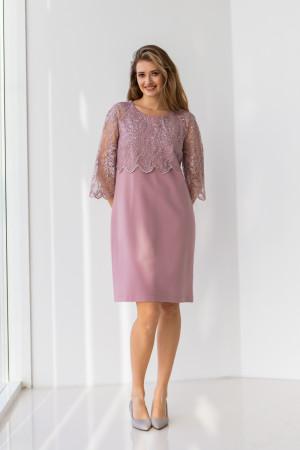 Платье «Лация» цвета фрез
