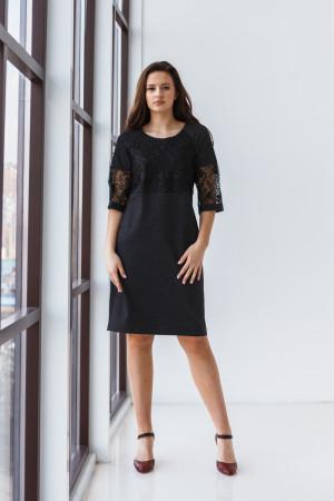 Платье «Лалли» черного цвета
