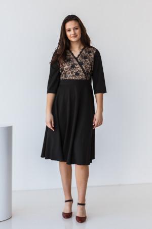 Платье «Ариадна» черного цвета