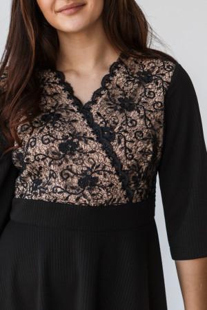 Сукня «Аріадна» чорного кольору