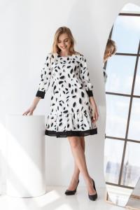 Платье «Анеллин» белого цвета