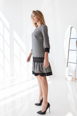 Сукня «Анеллі» чорно-білого кольору