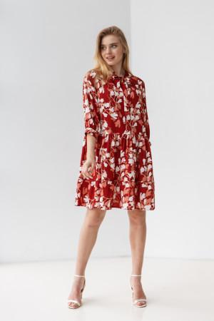 Сукня «Байрон» червоного кольору