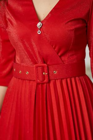 Платье «Бриана» красного цвета