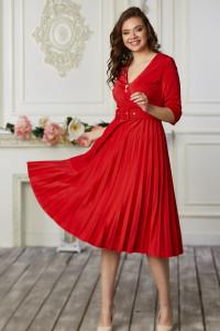 Сукня «Бріана» червоного кольору