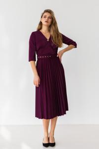 Сукня «Бріана» кольору марсала