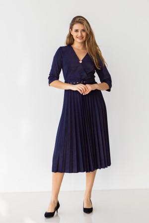 Сукня «Бріана» темно-синього кольору