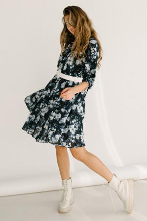 Сукня «Івона» темно-синього кольору