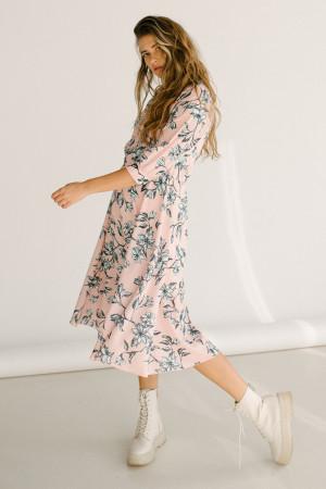 Сукня «Аріса» пудрового кольору