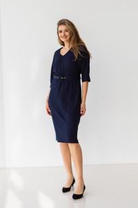 Сукня «Жаклін» синього кольору