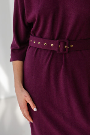 Сукня «Жаклін» бордового кольору