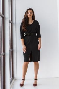 Сукня «Жаклін» чорного кольору