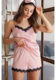 Піжамні шорти «Шайлін» лілового кольору
