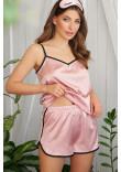 Піжамні шорти «Шелбі» лілового кольору