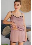 Піжамні шорти «Шелбі» темно-лілового кольору