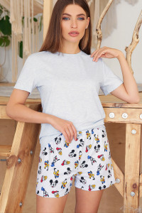 Пижама «Джой-2» голубого цвета