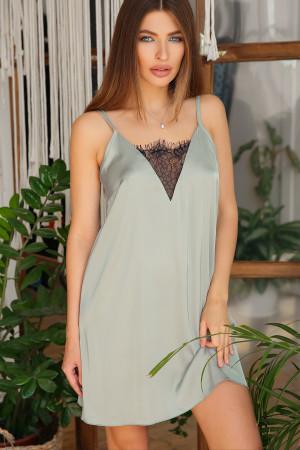 Ночная рубашка «Дайна» оливкового цвета