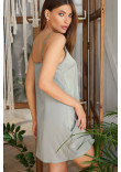 Нічна сорочка «Дайна» оливкового кольору
