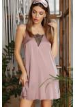 Нічна сорочка «Дайна» темно-лілового кольору