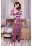 Домашній костюм «Лючі» лілового кольору