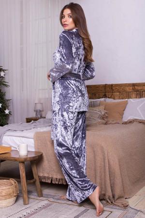 Домашній костюм «Лючі» сірого кольору