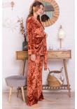 Домашній костюм «Лючі» теракотового кольору