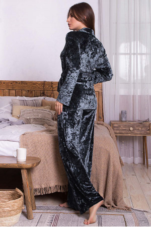 Домашній костюм «Лючі» графітового кольору