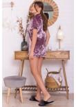 Домашній костюм «Нурія» лілового кольору