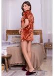 Домашній костюм «Нурія» теракотового кольору