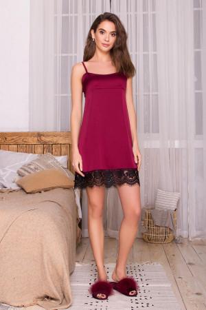 Ночная рубашка «Одетта» цвета бордо