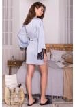 Халат «Торал» сіро-блакитного кольору
