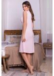 Нічна сорочка «Нідія» рожевого кольору