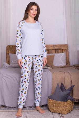 Пижама «Амаль» голубого цвета